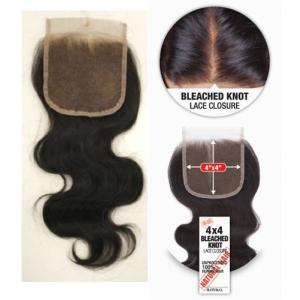 Shake-N-Go 4x4 Bleached Knot Unprocessed 100% Human Hair
