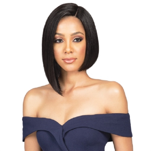 Bobbi Boss 100% Premium Human Hair Lace Front Wig - MHLF401 HH NADINE
