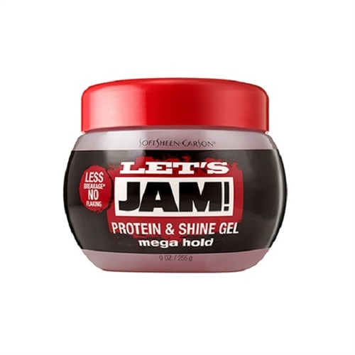 Let's Jam Mega Hold Protein & Shine Gel - 9oz