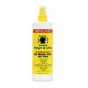 Jamaican Mango & Lime No More Itch Gro Spray - 16oz
