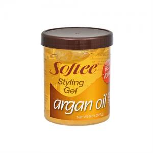 Softee Argan Oil Styling Gel - 8oz