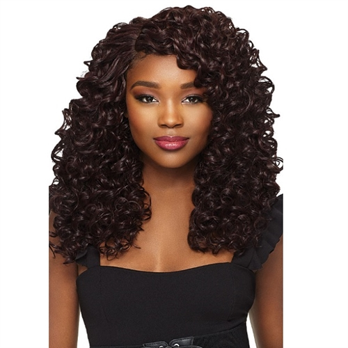 Outre Batik Rouge Synthetic Weave - DEEP SPIRAL 5PCS (14/16/18/20 + lace parting closure)