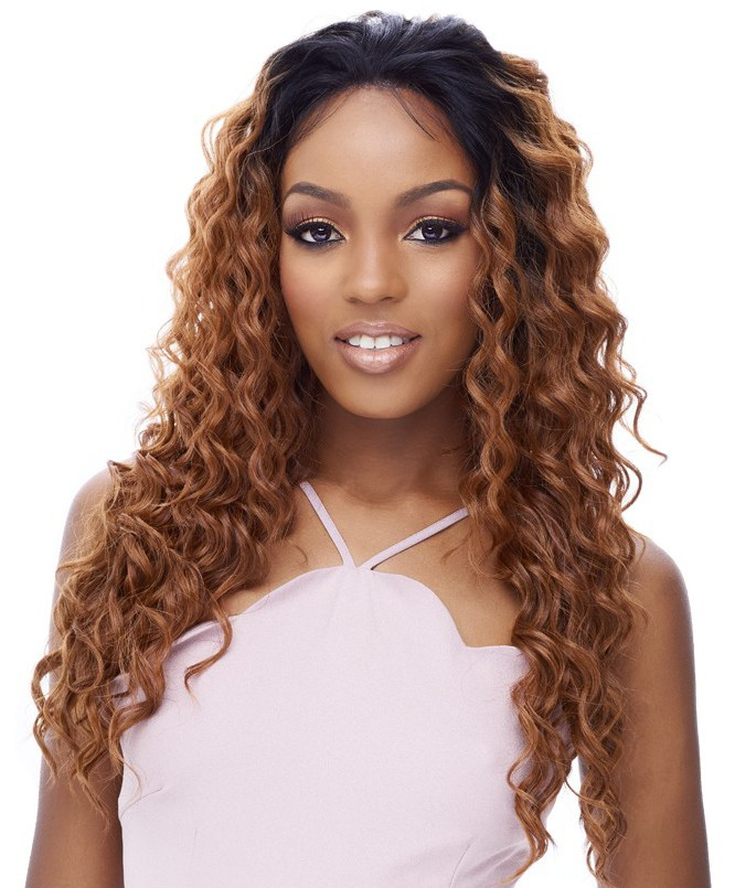 It's a Wig 360 All-Round 100% Human Hair Premium Mix Deep Full Lace Wig 360 LACE EMOTION