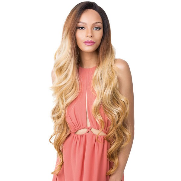 It's a Wig 360 All-Round 100% Human Hair Premium Mix Deep Full Lace Wig 360 LACE ADIRA