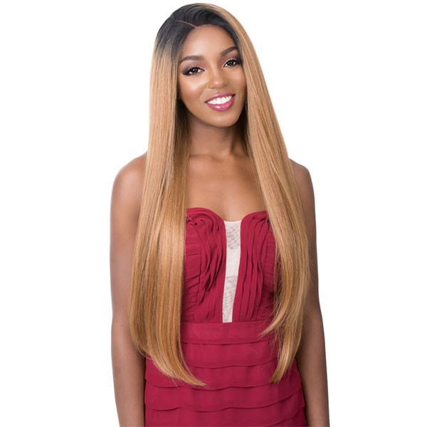 It's a Wig 360 All-Round 100% Human Hair Premium Mix Deep Full Lace Wig 360 LACE BARBIE
