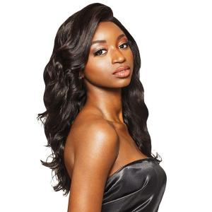 "Outre MyTresses Black Label 100% Unprocessed Human Hair 13"" X 4""  Full Lace Wig NATURAL LOOSE BODY"