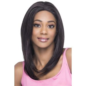 Vivica's VVIP Collection 100% Brazilian Virgin Remi Natural Human Hair Hand-Tied Full Swiss Lace Wig GENEVA