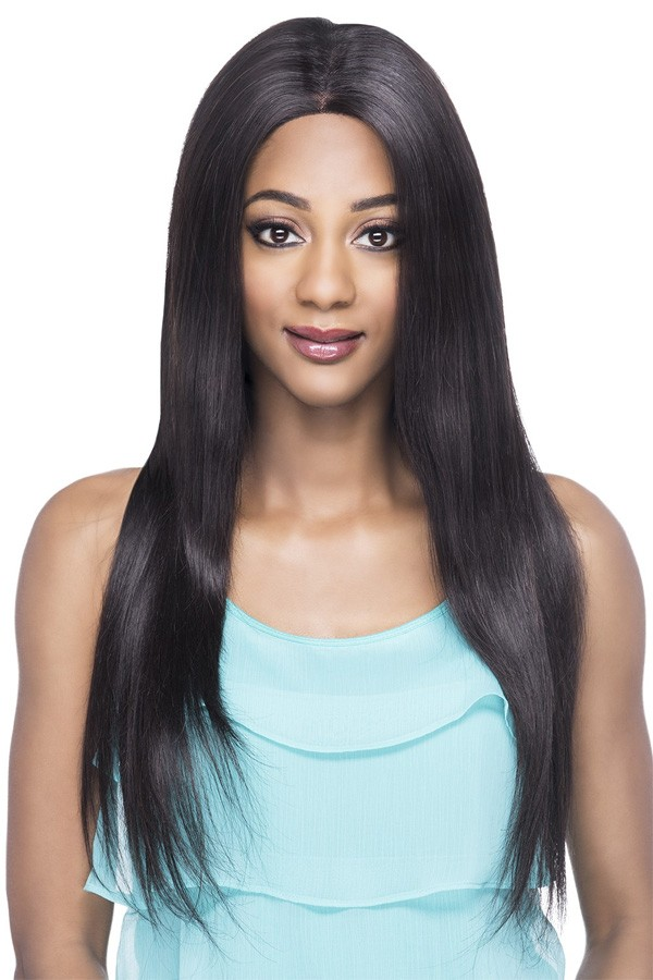 Vivica's VVIP Collection 100% Brazilian Virgin Remi Natural Human Hair Hand-Tied Full Swiss Lace Wig VIENNA