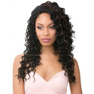 It's A Wig Vixen Y 100% Human Hair Premium Mix Full Lace Wig VIXEN Y YAKI RIPPLE WAVE