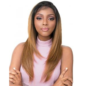 It's A Wig Vixen Y 100% Human Hair Premium Mix Full Lace Wig VIXEN Y YAKI STRAIGHT