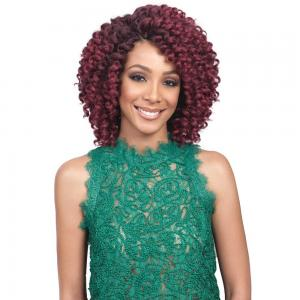 Bobbi Boss Kanekalon 2X Value Crochet Braid - Brazilian Baton Curl 6""