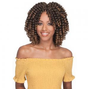 Bobbi Boss Kanekalon 2X Value Crochet Braid - Brazilian FlexiRod Curl 6""