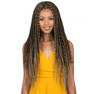 Bobbi Boss Crochet Braid - Bomba Box Braid 36""