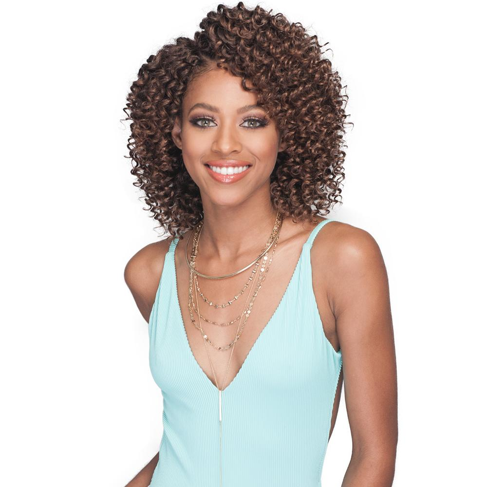 Bobbi Boss Kanekalon 2X Value Crochet Braid - Brazilian Beach Wave 6""
