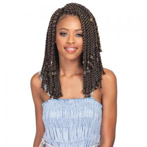 "Bobbi Boss Crochet Hair [Bomba Senegal Twist | Blunt Tips 10""]"