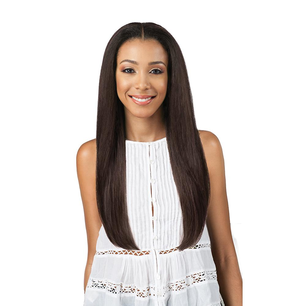 Bobbi Boss Human Hair Blend Swiss Lace Front Wig - MBLF20 Zia