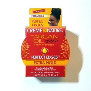 Creme of Nature Argan Oil Edge Control Hair Gel, 2.25 oz.