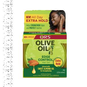 ORS Olive Oil Edge Control Hair Gel, 2.25 oz
