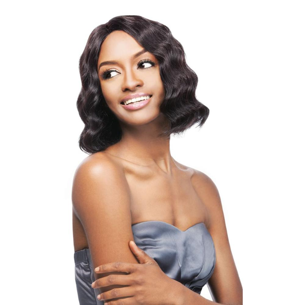 Outre Simply 100% Human Hair Lace Front Wig - Brazilian Natural Deep Bob