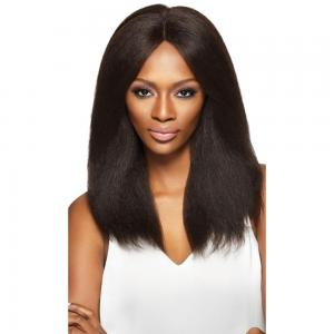 Outre Simply 100% HH Swiss Lace Front Wig - Brazilian Natural Blow Out Straight
