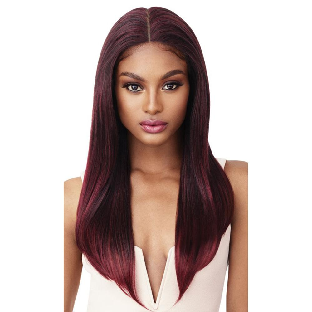 """Outre Perfect Hairline Fully Hand-Tied 13"""" x 6"""" Frontal Lace Wig - Karina"""