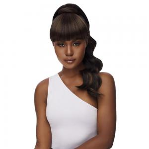 Outre Synthetic Bang x Pony Quick Ponytail - Kayla