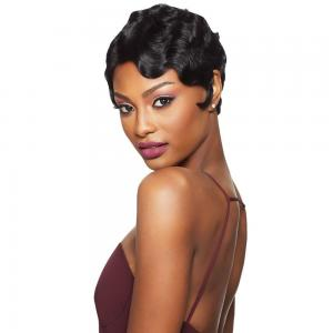 Outre Velvet 100% Remi Human Hair Lace Front Wig - Finger Wave