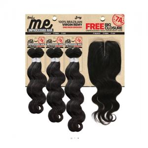 ONLY ME S-BODY - Zury Brazilian Free Big Multi Closure