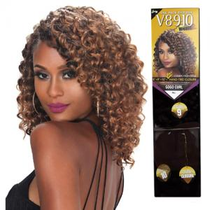 V8910 WV GOGO CURL - Zury One Pack Enough V-Shape Finish Style Weave