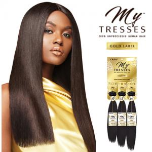 NATURAL STRAIGHT - Outre Mytresses Gold Label Unprocessed Human Hair Weave