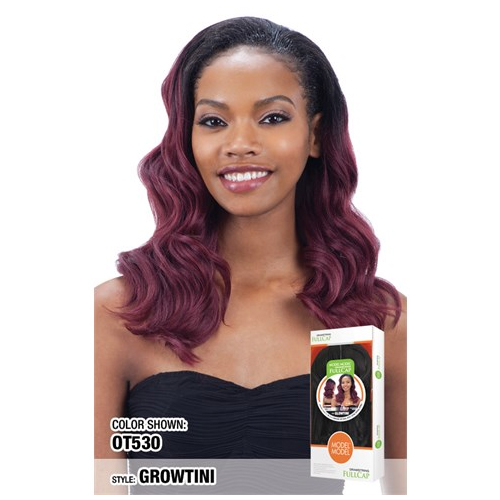 GLOWTINI - Model Model Equal Synthetic Drawstring Fullcap Wig