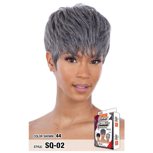 SQ-02 - Model Model Equal Sterling Queen Synthetic Wig