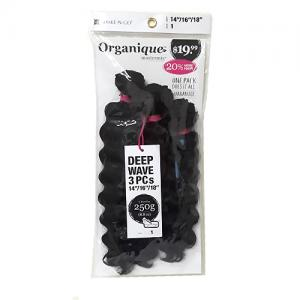 DEEP WAVE 3PCS - Freetress Organique Mastermix Weave