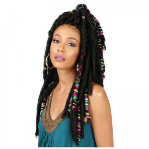 "Bobbi Boss BAE Locs 20"" Accent Threaded Locs"