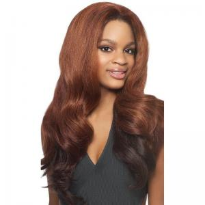 Outre Half Wig Batik Dominican Blow Out Relaxed Bundle Hair