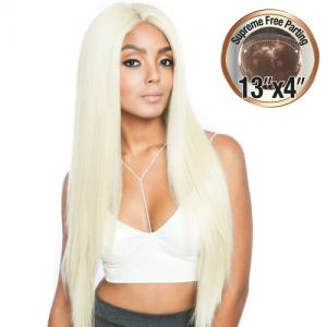 Mane Concept Human Hair Blend Lace Front Wig Melanin Queen 13X4 Frontal Lace MLF