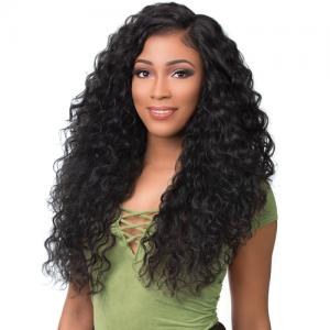 Sensationnel Synthetic Lace Front Wig Empress Edge Boutique Bundles 3-Way Free Part Lace Wig Deep