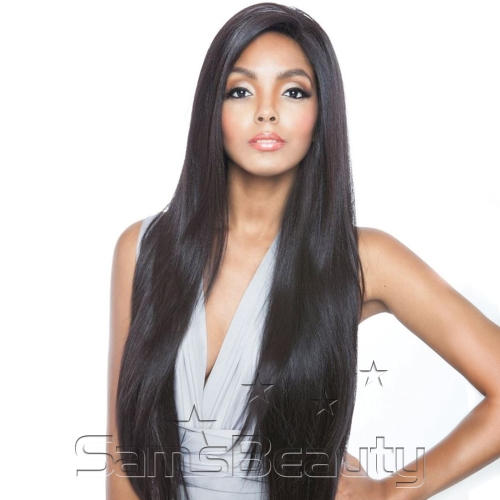 Mane Concept Human Hair Blend Whole Lace Wig Brown Sugar Soft Swiss Lace BS491