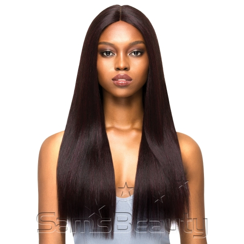 """Outre Synthetic Hair Lace Front Wig Brazilian Boutique 4"""" Deep Free Part Lace Wig Volume Pressed"""