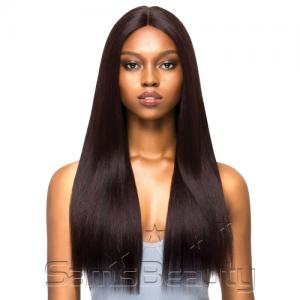 "Outre Synthetic Hair Lace Front Wig Brazilian Boutique 4"" Deep Free Part Lace Wig Volume Pressed"