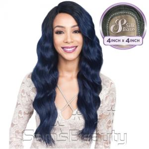 Bobbi Boss Synthetic Lace Front Wig MLF200 4X4 Silk Base Celeste