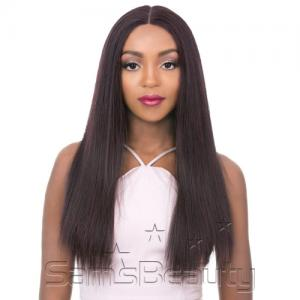 It's A Wig Human Hair Blend Lace Front Wig Vixen X yaki Straight