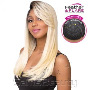 Sensationnel Synthetic Lace Front Wig Empress Edge Feather & Flare Natural Curved Part Nicole