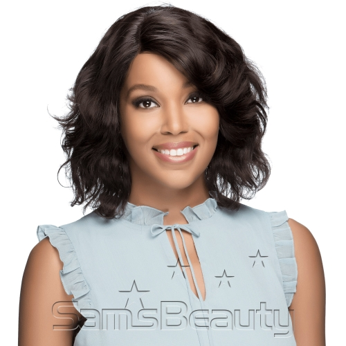 Vivica Fox Natural Brazilian Virgin Remi Human Hair Lace Front Wig Swiss Lace Kacey