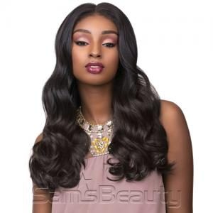 Sensationnel Human Hair Blend Hand Tied Full Lace Wig Cloud 9 Body Wave 22""