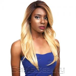 Sensationnel Human Hair Blend Lace Front Wig Super Model Series 3XL Swiss Silk Based Melba