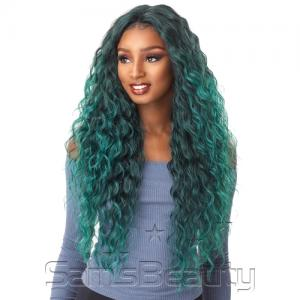 Sensationnel Synthetic Lace Front Wig Empress Edge Natural Center Part Anya