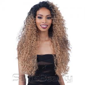 "FreeTress Equal Synthetic Hair Lace Front Wig Lace&Lace 6"" Lace Part Wig Major"