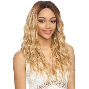 Harlem125 Synthetic Hair Lace Front Wig 13X6 Swiss Silk Base FLS54