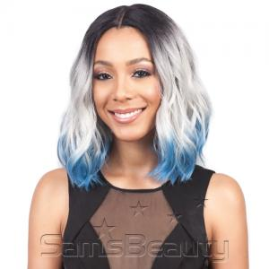 """Bobbi Boss Synthetic Hair Lace Front Wig MLP0002 Realistic 5"""" Lace Part Zendaya"""